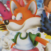 Psycho Fox (SMS) game cover art