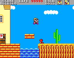 HonestGamers - Wonder Boy in Monster Land (Sega Master System)
