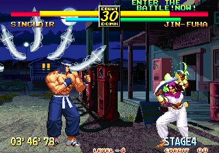 Honestgamers Art Of Fighting 3 The Path Of The Warrior Arcade
