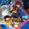 Battle B-Daman: Fire Spirits! (GBA) game cover art