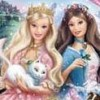 Barbie as The Princess and the Pauper (GBA) game cover art
