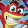 Crash Bandicoot Purple: Ripto's Rampage artwork