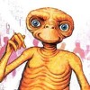 E.T. The Extra Terrestrial artwork