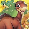The Land Before Time (GBA) game cover art