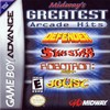 Midway's Arcade's Greatest Hits (GBA) game cover art