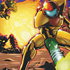 Metroid: Zero Mission (GBA) game cover art