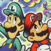 Mario & Luigi: Superstar Saga (GBA) game cover art