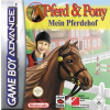 Pferd & Pony: Mein Pferdehof (GBA) game cover art
