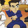 River City Ransom EX (GBA) game cover art