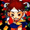 Super Puzzle Fighter II (GBA) game cover art