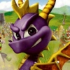 Spyro: Attack of the Rhynocs (GBA) game cover art