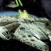 Star Wars: Flight of the Falcon (GBA) game cover art