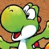 Yoshi Topsy-Turvy (GBA) game cover art
