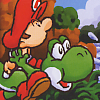 Yoshi's Island: Super Mario Advance 3 (GBA) game cover art