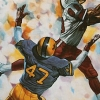 Super Pro Football artwork