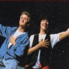 Bill and Ted's Excellent Adventure artwork