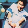 Jimmy Connors' Tennis artwork