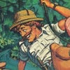 Jungle Hunt (Atari 5200) game cover art