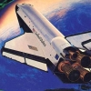 Space Shuttle artwork
