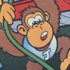 Donkey Kong Junior (Atari 7800) game cover art