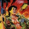 Ikari Warriors (Atari 7800) game cover art