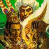 San Goku Shi IV (32X) game cover art