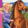 Barbie Horse Adventures: Wild Horse Rescue (PS2) game cover art