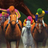 Gallop Racer 2001 (PS2) game cover art