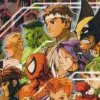 Marvel vs. Capcom 2 (PS2) game cover art