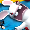 Rayman: Raving Rabbids (PS2) game cover art