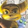 Ratchet & Clank (PS2) game cover art