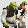 Shrek 2 (PS2) game cover art