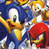 Sonic Heroes (PS2) game cover art