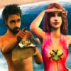The Sims 2: Castaway (PS2) game cover art