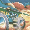 Moon Buggy (Commodore 64) artwork