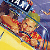 Crazy Taxi artwork