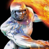 NFL Blitz 2001 (DC) game cover art