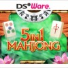 5 in 1 Mahjong (DS) game cover art