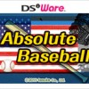 Absolute Baseball (DS) game cover art