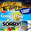 Battleship / Connect 4 / Sorry / Trouble (DS) game cover art