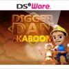 Digger Dan & Kaboom (DS) game cover art