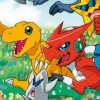 Digimon Story: Super Xros Wars Blue artwork