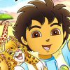 Go, Diego, Go!: Safari Rescue (DS) game cover art