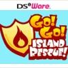 Go! Go! Island Rescue! (DS) game cover art