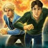 The Hardy Boys: Treasure on the Tracks (DS) game cover art