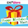 Happy Birthday Mart artwork