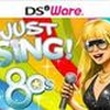 Just Sing! 80s Collection (DS) game cover art