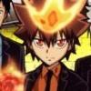Katekyoo Hitman Reborn! Ore ga Boss! Saikyou Family Taisen (DS) game cover art