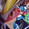 Mega Man Star Force 2: Zerker X Saurian artwork