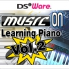 Music on: Learning Piano Vol. 2 (DS) game cover art